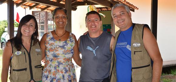 Caçadores de Bons Exemplos visitam Caruanas do Marajó
